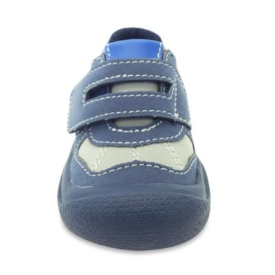Rising Star™ Size 12M Sporty Sneaker in Blue with Velcro® Strap