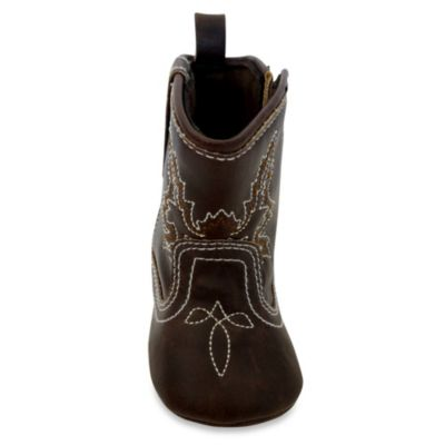 Size 3-6M Cowboy Boot in Brown
