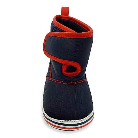 Boys' Shoes > Rising Star® Snow Boot in Navy/Red from Buy ...