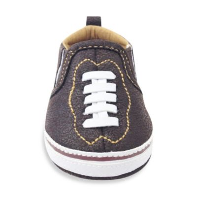 Rising Star™ Size 9-12M Football Sneaker in Brown