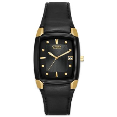 Gold Tonneau Watch