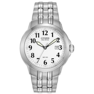 Citizen Men's Eco-Drive Stainless Steel Bracelet Watch