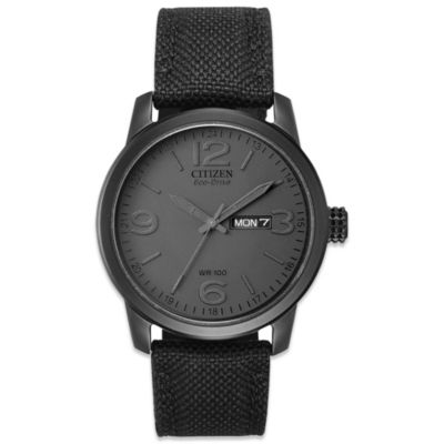 Citizen Men's Eco-Drive Sport Watch in Black