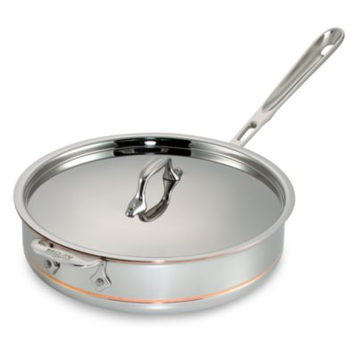 All-Clad Copper Core 4-Quart Covered Saute Pan