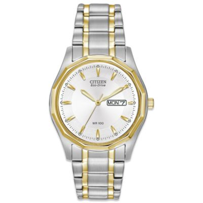 Citizen Ladies Eco-Drive Two-Tone Stainless Steel Sport Watch