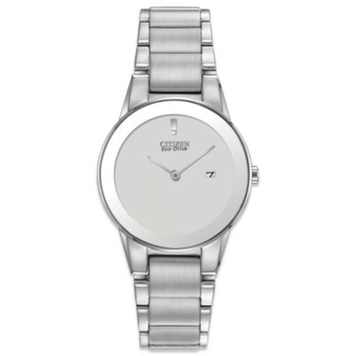 Citizen Ladies Eco-Drive Sivertone Axiom Watch