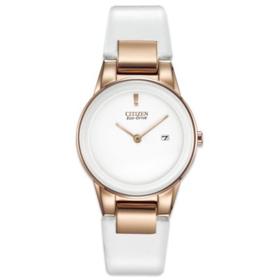 Citizen Ladies Eco-Drive Rose Goldtone Axiom Watch