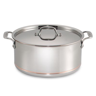 All-Clad Copper Core 8-Quart Covered Stock Pot