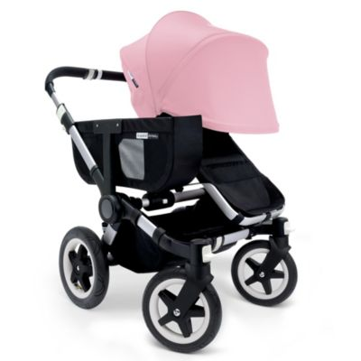 Bugaboo Donkey Extendable Canvas Sun Canopy in Soft Pink