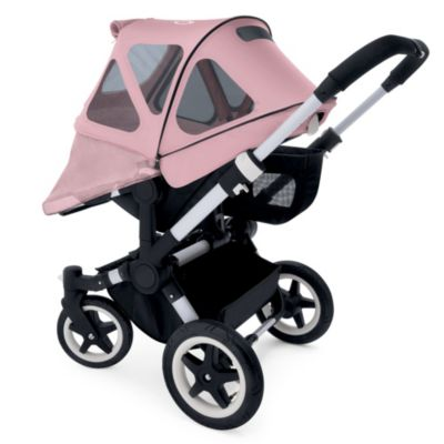Bugaboo Donkey Breezy Sun Canopy in Soft Pink
