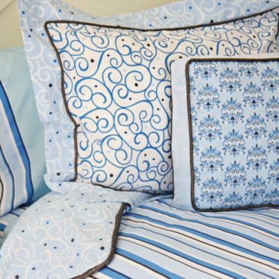 Caden Lane® Luxe Pillow Sham in Blue