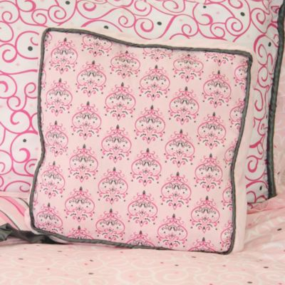 Caden Lane® Luxe Square Pillow in Pink