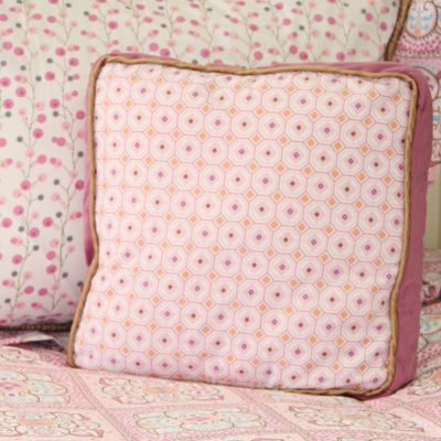 Girl Bedding and Pillows