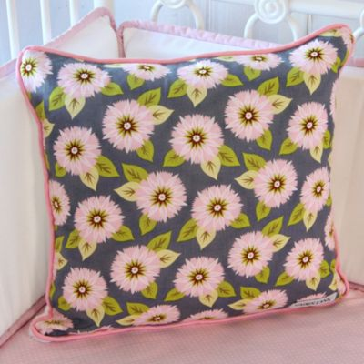 Caden Lane® Pink Dahlia Pillow