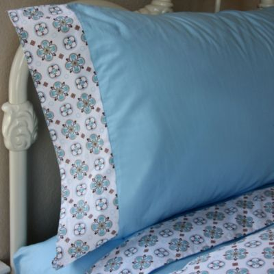 Caden Lane® Modern Vintage Full Sheet Set in Blue