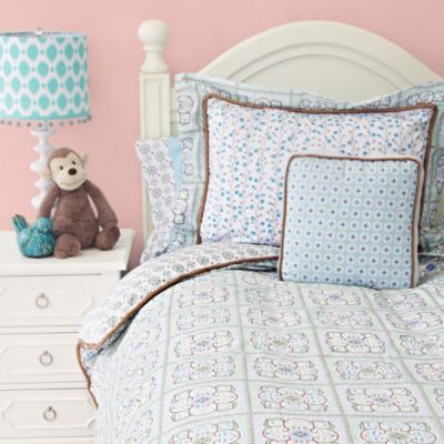 Caden Lane® Modern Vintage Twin Duvet Cover in Blue