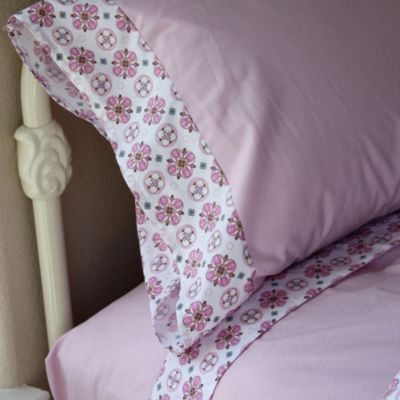 Pink Girls Twin Bedding
