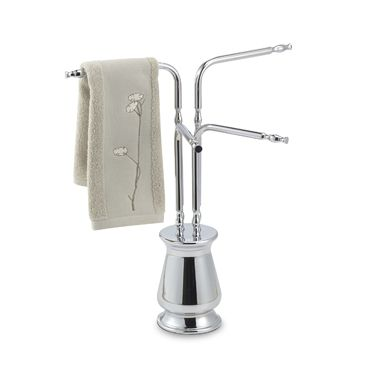 Deluxe 4-Arm Towel Tree in Chrome