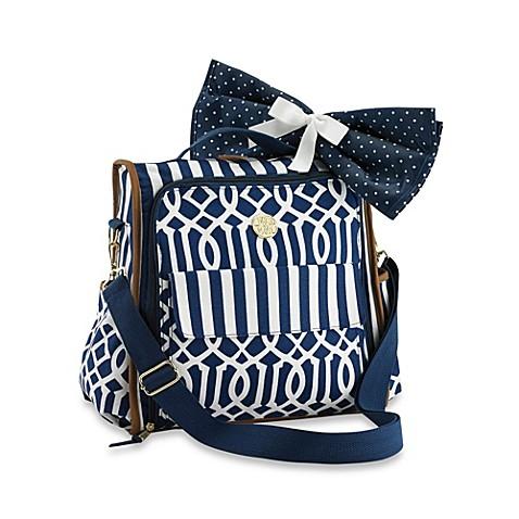 mud pie bundle of joy diaper bag in navy buybuy baby. Black Bedroom Furniture Sets. Home Design Ideas