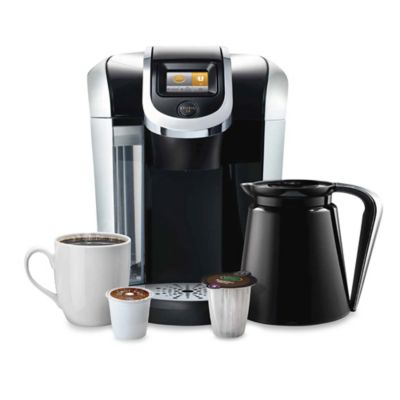 Black Keurig Coffee Systems