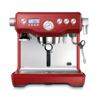 Breville® Dual Boiler™ BES920XL Espresso Maker in Cranberry Red