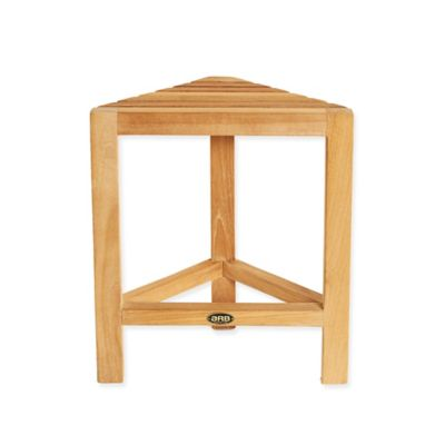 ARB Teak & Specialties Fiji Teak Small Corner Foot Rest