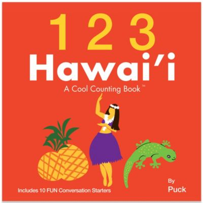 123 Hawaii: A Cool Counting Book™ by Puck