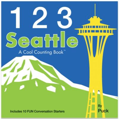 123 Seattle: A Cool Counting Book™ by Puck