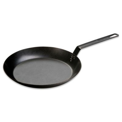 Lodge 12-Inch Seasoned Carbon Steel Skillet
