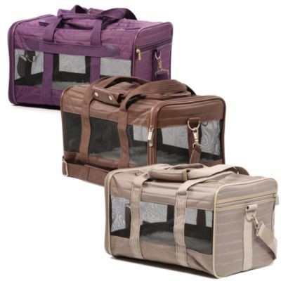 Purple Pet Carrier