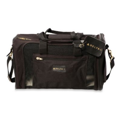 Sherpa Delta Medium Pet Carrier in Black