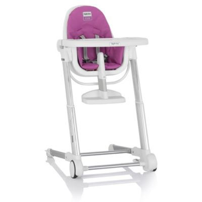 Inglesina Zuma High Chair in White/Fuchsia