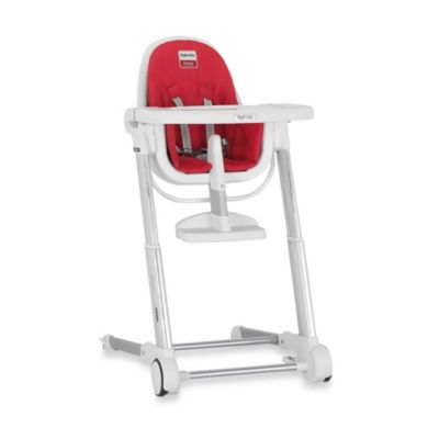 Inglesina Zuma High Chair in White/Red