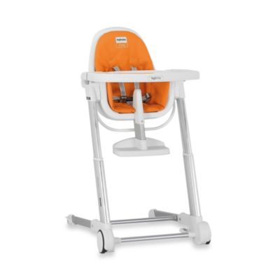 Inglesina Zuma High Chair in White/Orange