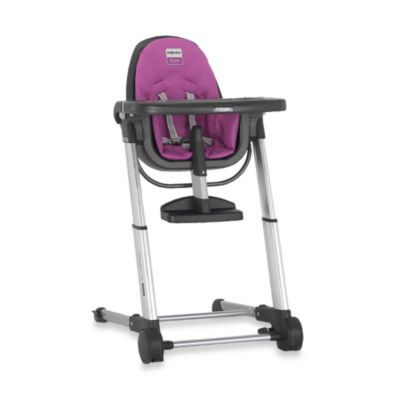 Inglesina Zuma High Chair in Grey/Fuchsia