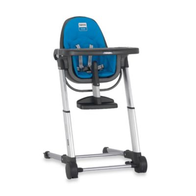 Inglesina Zuma High Chair in Grey/Light Blue