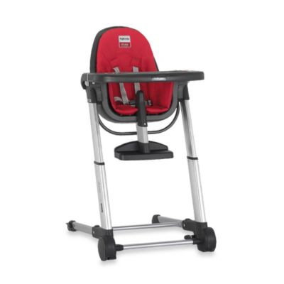Grey/Red High Chairs