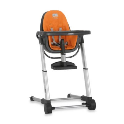 Inglesina Zuma High Chair in Grey/Orange