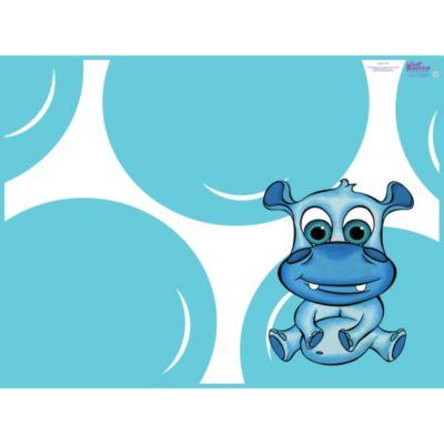 Blue Splat Mat