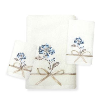 Croscill® Christina Fingertip Towel in Blue