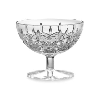 "Waterford® Lismore 5"" Crystal Footed Dish"