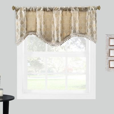 Geometric Window Valance