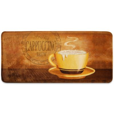 Relaxed Chef Cappuccino Kitchen Floor Mat