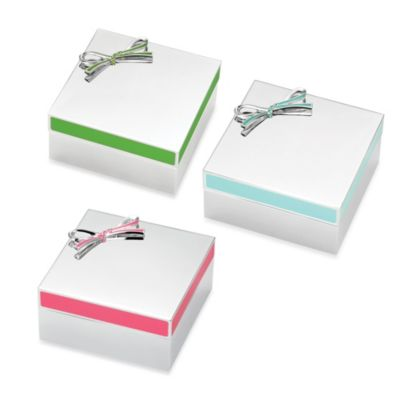 kate spade new york Vienna Lane™ Keepsake Box in Turquoise