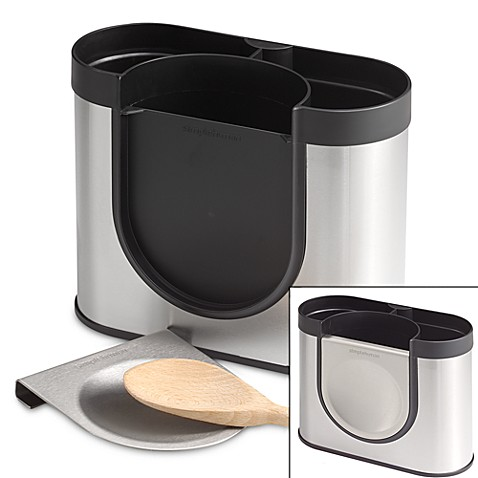 simplehuman® Stainless Steel Utensil Holder