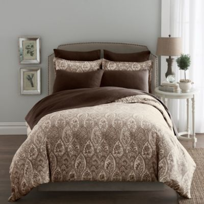 Modern Living Sienna Paisley European Pillow Sham in Java