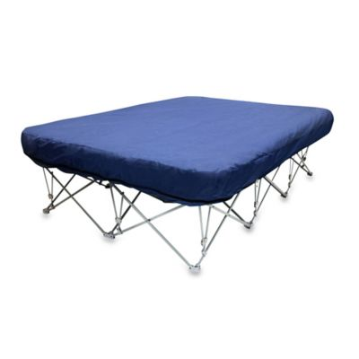 Inflatable Twin Bed with Foldable Frame