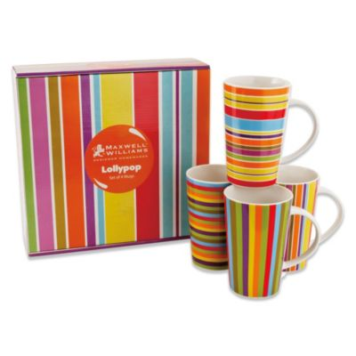 Maxwell & Williams™ Lollipop 13 oz. Mugs (Set of 4)