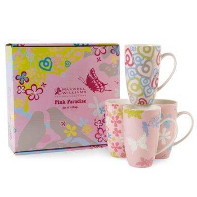 Maxwell & Williams™ Pink Paradise 15.25 oz. Mug (Set of 4)
