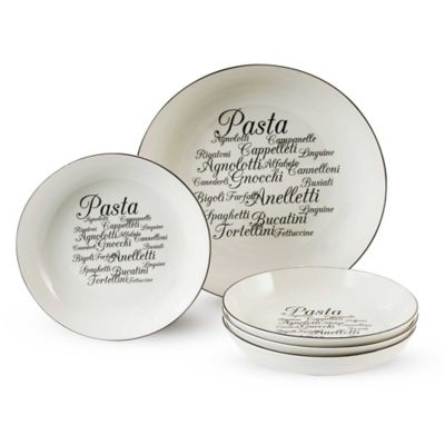Dishwasher Safe Pasta Set